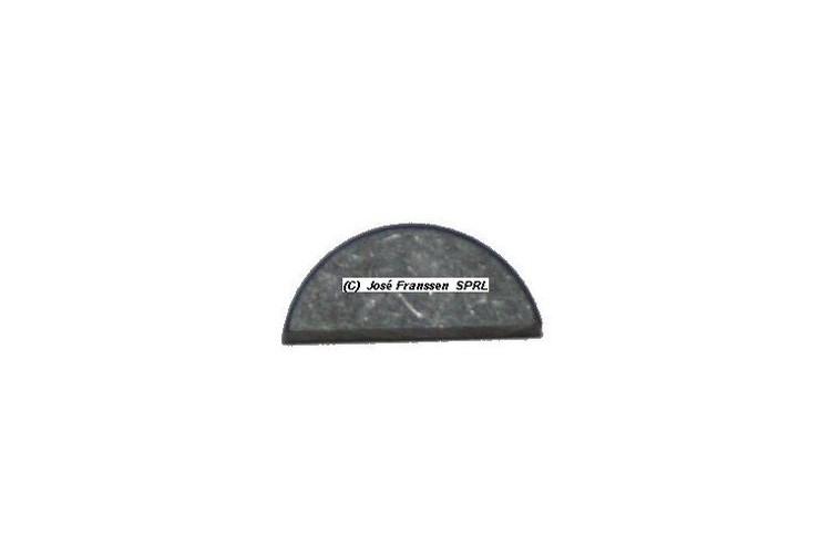 Woodruff-Keil 4,6 mm für Stirnrad für 11/15 CV HY