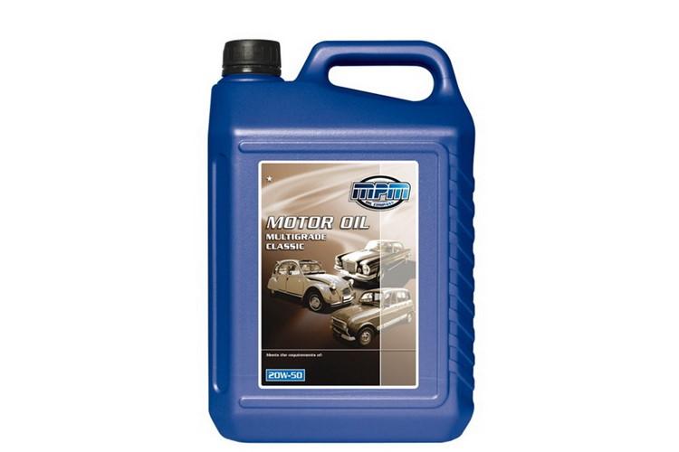 huile moteur  SAE 20w50 (5 litres)