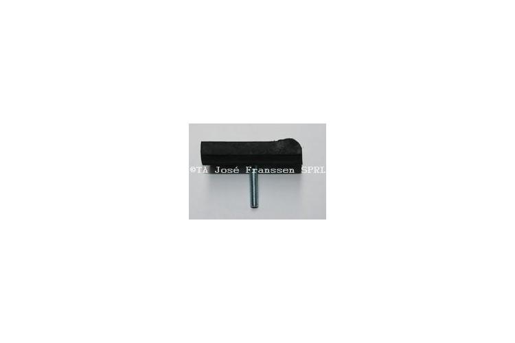 Gummipuffer für unteren Schwingarm  62 x 40 mm