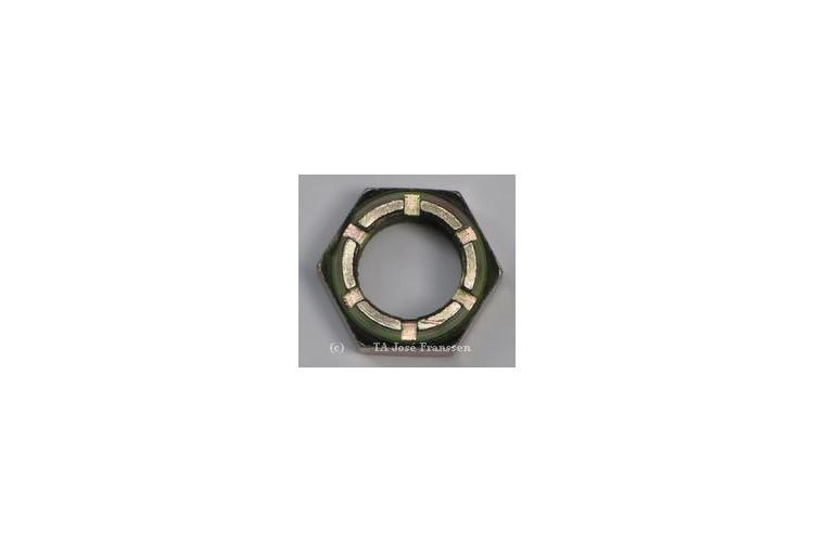 Kronenmutter für Bremstrommel links (Rechtsgewinde) (F=30kg)