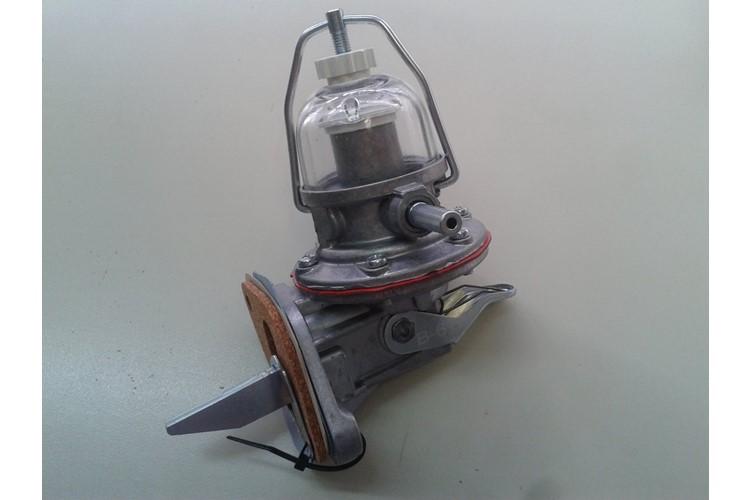 benzinepomp compleet met glas en hendel