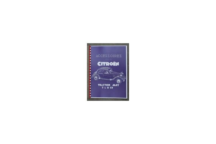 Accesssoires Traction Avant  (herdruk franse tekst) 1950