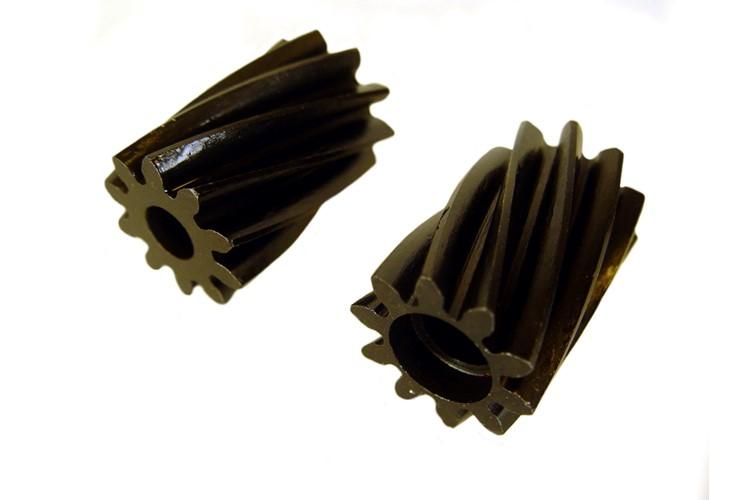 Pignon fixe et fou (pair) de pompe à huile