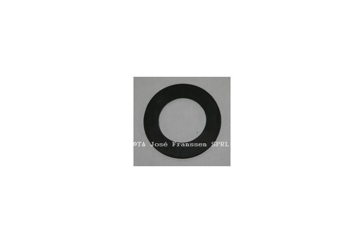2 rondelles antibruit caoutchouc/ fer
