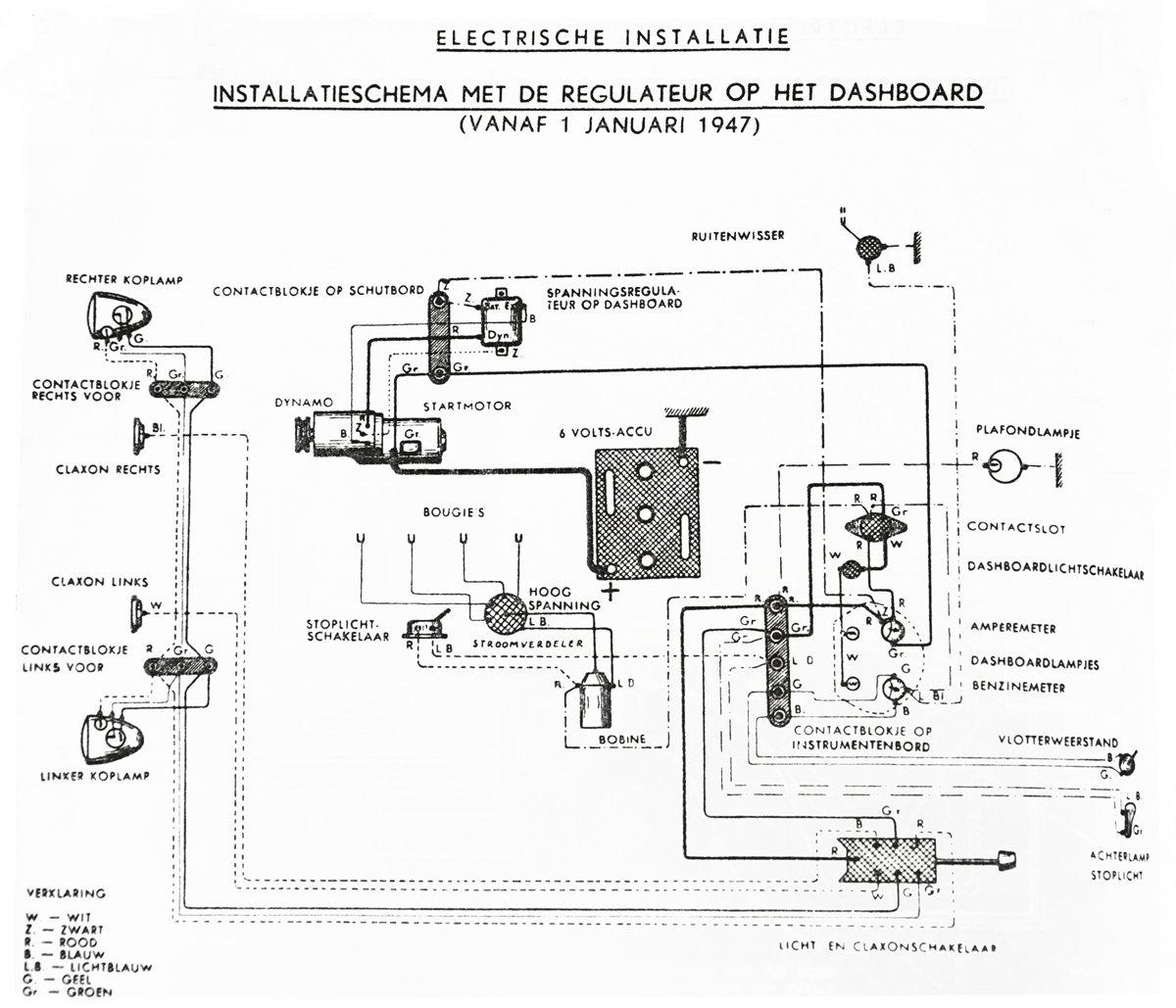 Schema Electrique Dyane 6