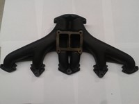 Exhaust manifold 15 hp